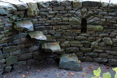 Dry Stone Wall Steps