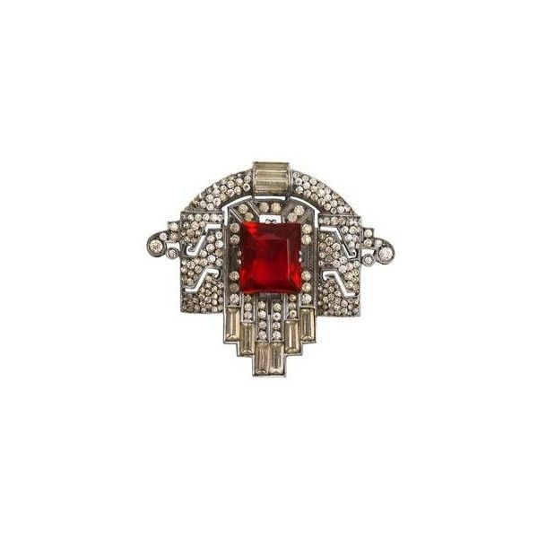 Art Deco BroachArt Decó, Art Deco Jewelry, Art Nouveau, Clear Crystals, Antiques Roadshow, Crystals Rhinestones, Art Deco Jewellery, Deco Brooches, Deco Inspiration