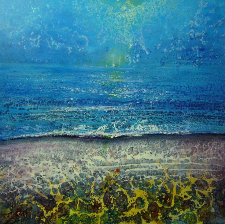Marea. Tecnica mista, 80x80, 2012