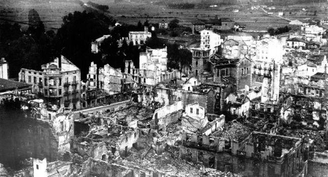Bombardeo de Gernika - 26 de abril de 1937