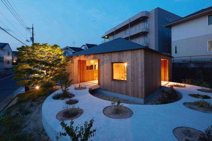 Unique home with beautiful wooden walls on its exterior in Hiroshima Prefecture, Japan - CAANdesign   Architecture and home design blog