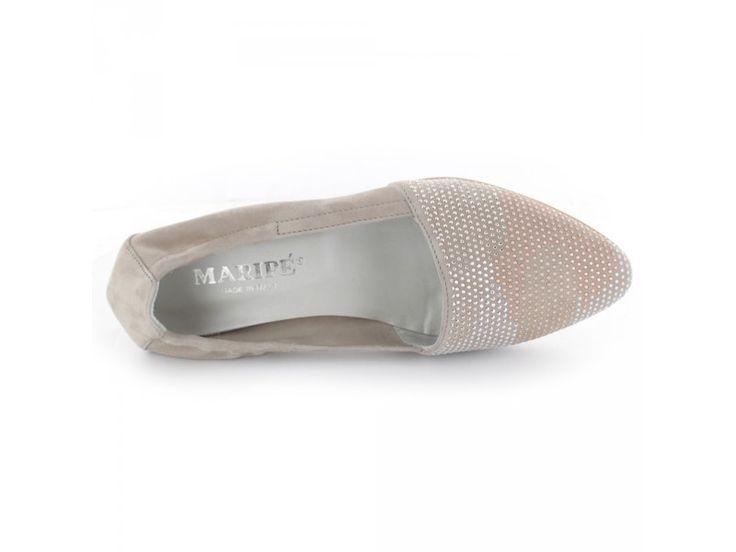 Maripé - Eleganter Damen Slipper mit glänzenden Nieten