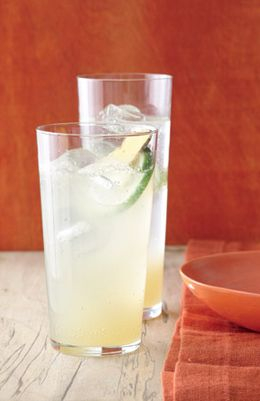 Try a Ginger Lime Sparkler to help with pregnancy queasiness.