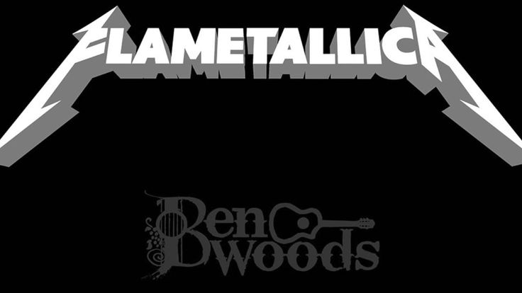 Battery Metallica - Flamenco Guitar Ben Woods - Flametallica