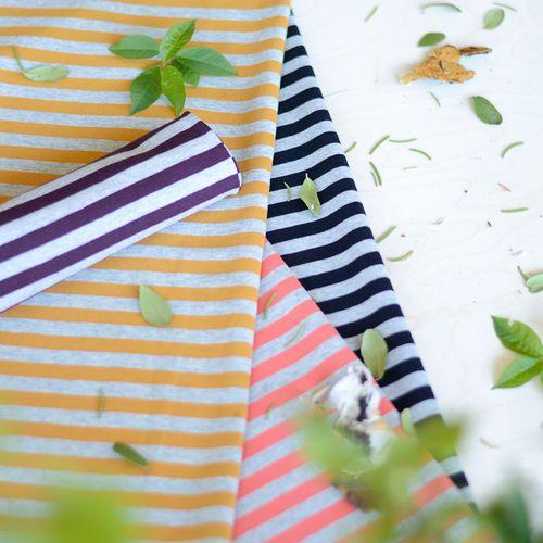 Midiraidat, luumu/ mel.harmaa| NOSH Fabrics Pre Autumn Collection 2016 is now available at en.nosh.fi | NOSH syksyn ennakkomalliston 2016 kankaat ovat nyt saatavilla nosh.fi