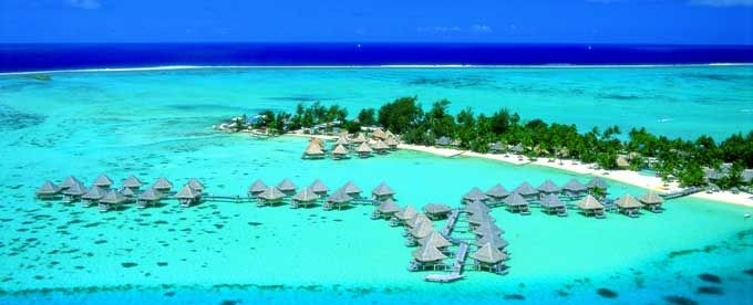 InterContinental Bora Bora Le Moana Aerial