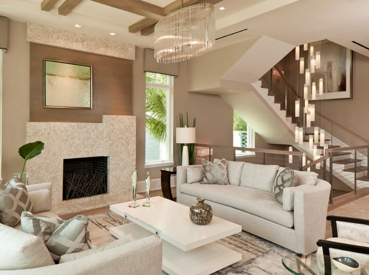 Glass Chandeliers in 20 Fabulous Living Areas