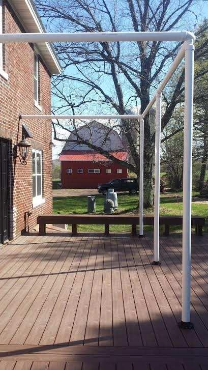 diy patio screening for deck                                                                                                                                                     More