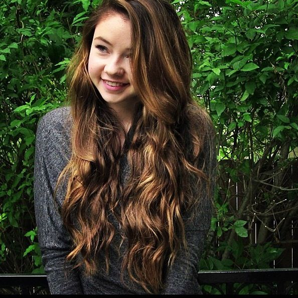 Stilababe09 (Meredith Foster) has the most gorgeous hair ...