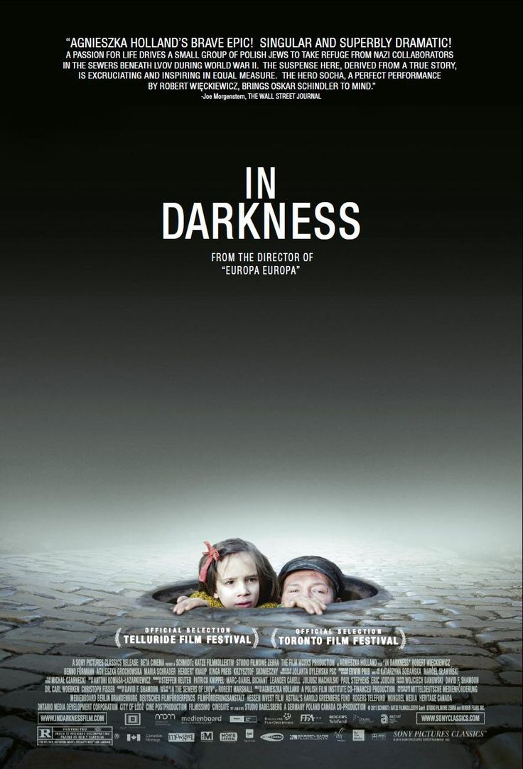 In darkness 2012 is based on a true story leopold socha a sewer