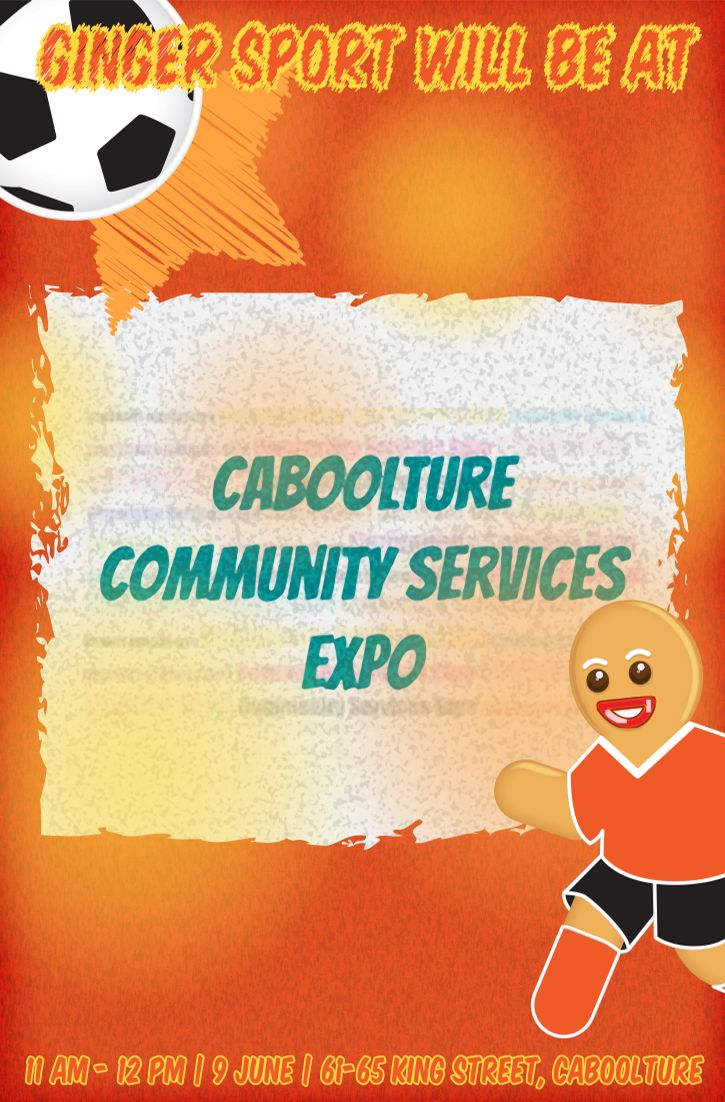 Come see us at the Caboolture Community Services Expo on 9 June!