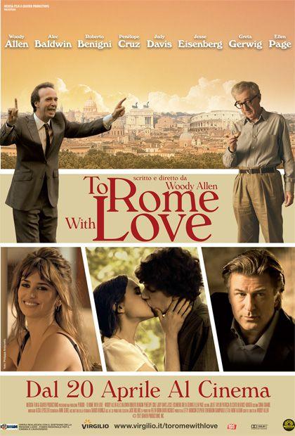 Oggi esce nelle sale To Rome With Love. Starring Lancia Thema!
