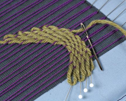 Create Intricate Fabric With Pin Weaving - Threads