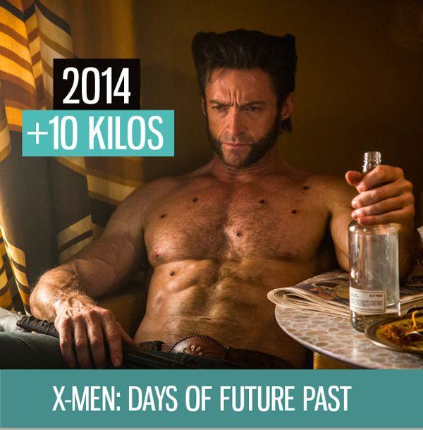 Transformation Physique Le Secret Des Muscles De Hugh Jackman Pour Role Wolverine Xmen