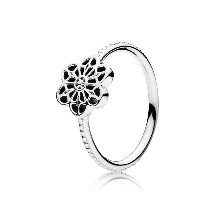 Inspired by a vintage lace pattern and projecting a contemporary expression, this glorious ring design balances modern elegance with traditional jewelry techniques. Blending rich details with intricate accents, the Floral Lace series exudes classic sophistication and an air of refinement. #PANDORA #PANDORAring