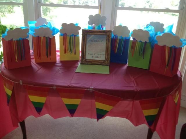"Photo 1 of 27: Brooklyn's 2nd Birthday Party / Birthday ""Somewhere Over the Rainbow"" 