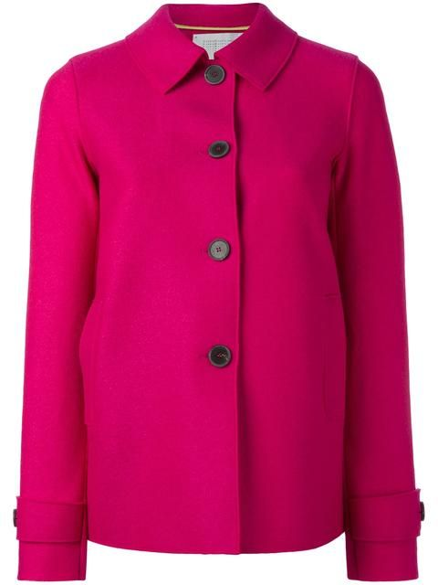 HARRIS WHARF LONDON classic short coat. #harriswharflondon #cloth #kurzmantel
