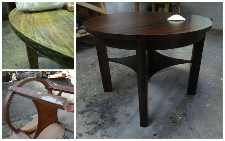 Stylowy stolik odnowiony!