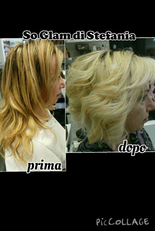#soglam #taglio #colpidisole#redken#chromatics#colore#taglio#haircut#capelli#hair#schiariture#biondo#soglam#cambio#shades#shatush#look#beauty#makeover#milano#soglamdistefania#colorrebel #ombrehair #onde #ricci #lisci #extensions #favoloso #estate #wedding # braid #trecce # sposa #oxylock #news#bronde #platino #argento #blur