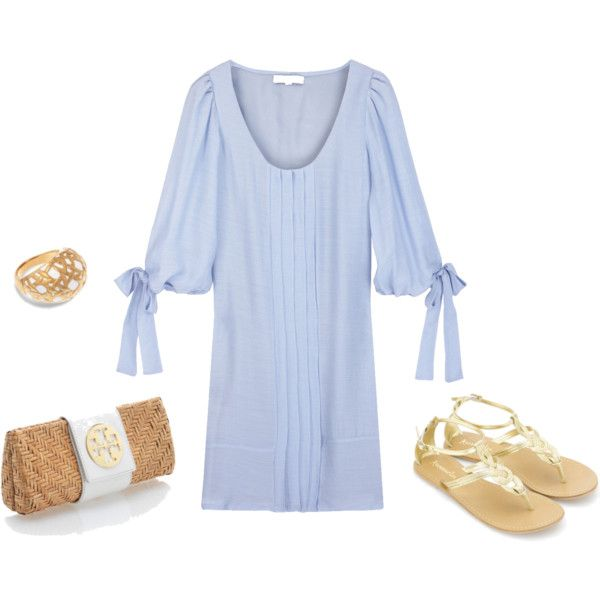 Love it: Baby Blue, Clothes Style, Summer Fashionista, Spring Summer, Summer Outfits, Bluedress Www 2Dayslook Com, Pale Blue Dresses