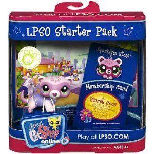 Littlest Pet Shop Online LPSO Web Game Starter Pack Sparklynn Stone Ferret by Hasbro. $1.94. Littlest Pet Shop Online