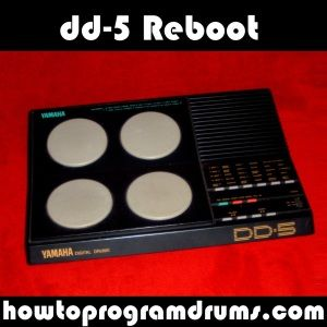 "Yamaha DD-5 Digital Drums, Free Download from howtoprogramdrums.com A toy drum machine? Or a useful electronic drummer? Find out with this digital ""Reboot"". For gritty industrial tracks! Try it here!"