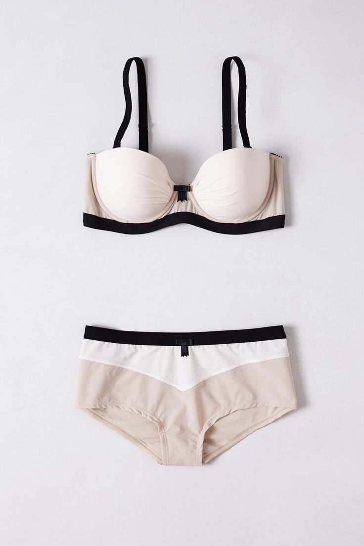Colorblocked Marli Bra - Anthropologie exclusive from Claudette