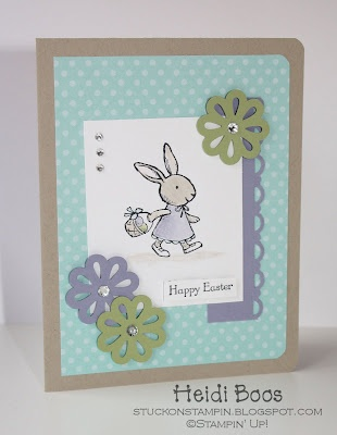 awesome color combo and love the softness of the colors used on the bunny