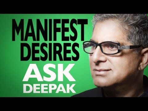 What Are The Seven Principles of Manifesting Your Desires? Ask Deepak!