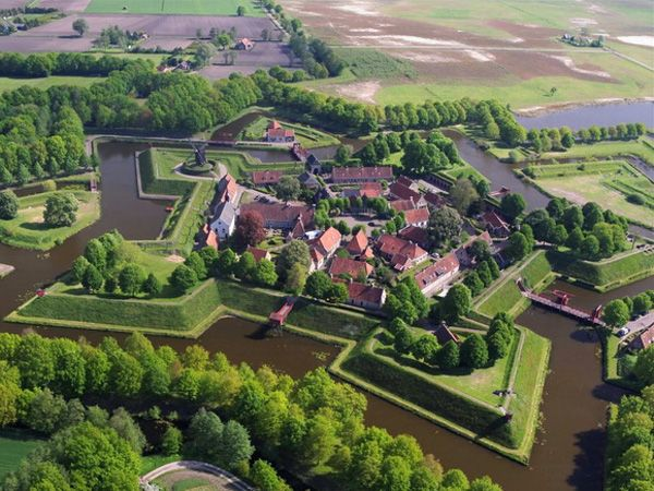 Fort Bourtange is a star fort located in the village of Bourtange, Groningen, Netherlands