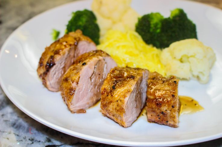 Maple Glazed Pork Tenderloin-3