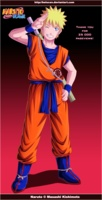 Naruto in Goku outfit