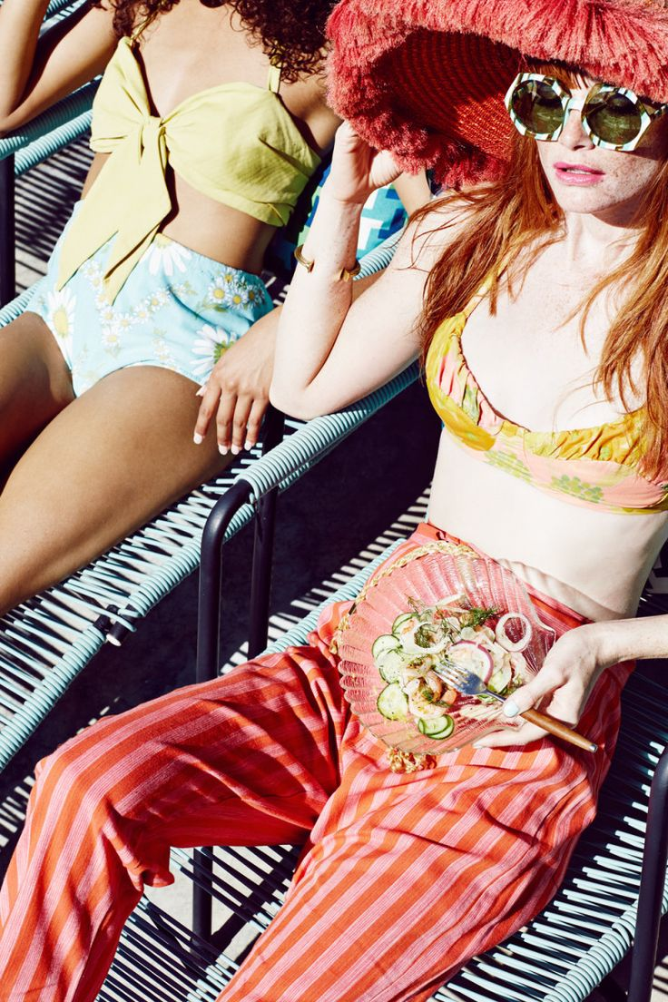 Bon Apetit Magazine channels summer like no other. Shot by Julia Galdo and Cody Cloud of Juco summer editorial pool party