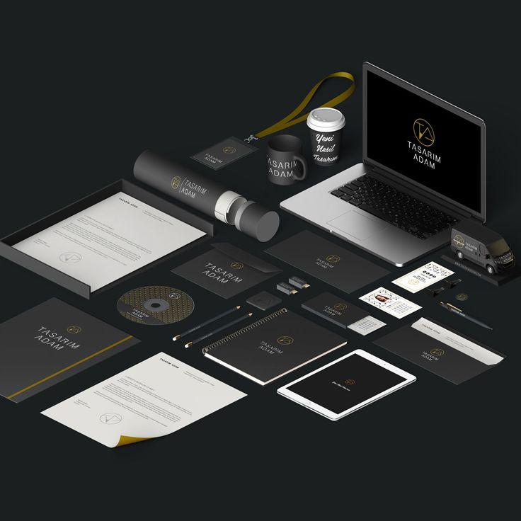Tasarım Adam - Kurumsal Kimlik Tasarımı - Identity design