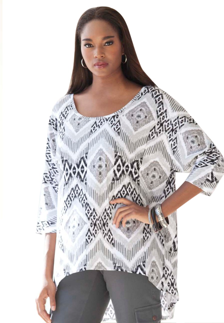 High/Low Tunic | Plus Size New Arrivals