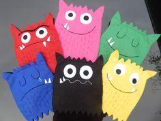 Les p'tites marionnettes-monstres des émotions (Nathaliell)