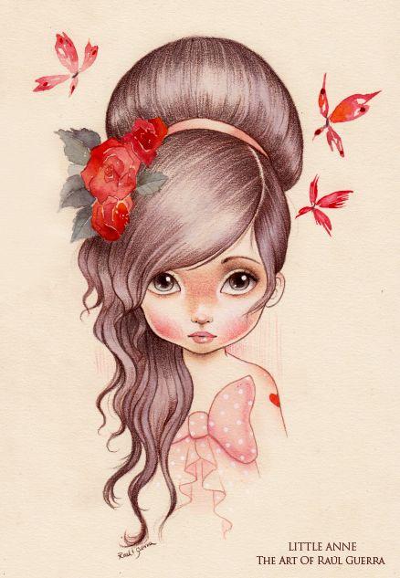 LITTLE ANNE by raul-guerra.deviantart.com on @deviantART