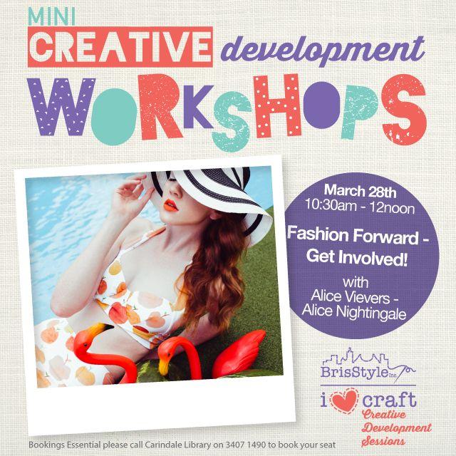 Creative Development Workshops Alice march 28th