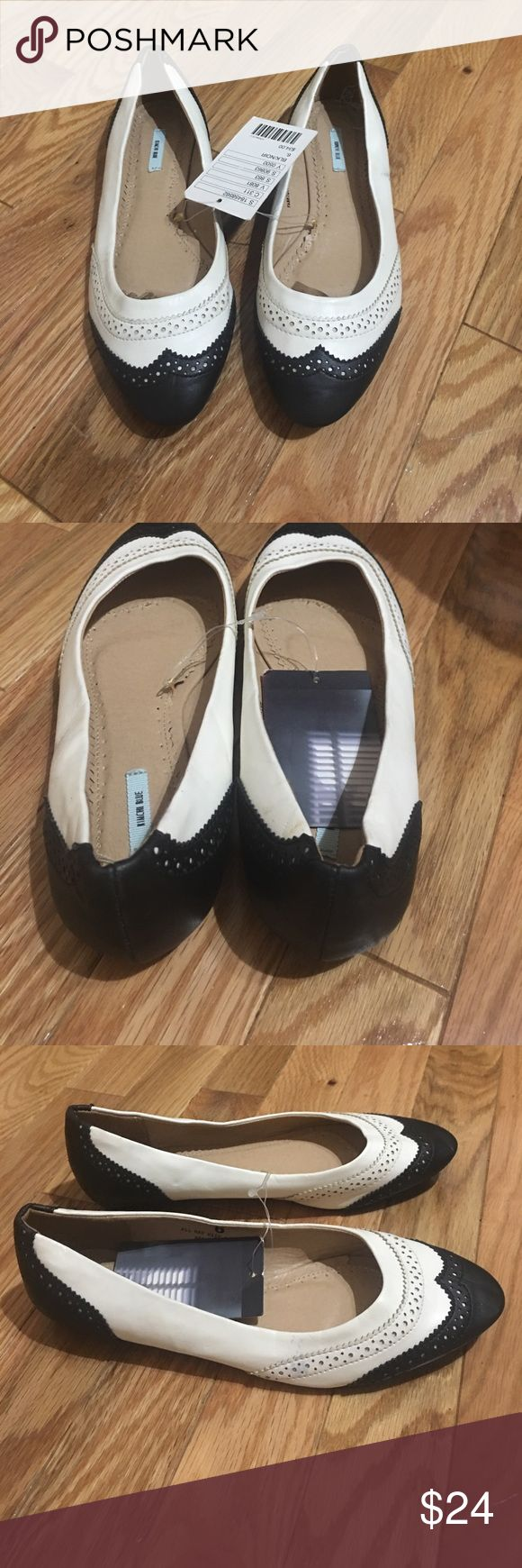 Urban outfitters kimchi blue wingtip flats NWT Get the best of both worlds with these wingtip skimmers - a feminine flat finished with masculine wingtip detailing. They're a perfect for your uber-girly summer/ fall sundresses. Does have a bit of color transfer on one shoe and a scuffing on the other shoe. It must have happened in my closet because these have never been worn the are too cute but unfortunately just a side to small for me. NWT.  $34  at Urban Outfitters. Urban Outfitters Shoes…