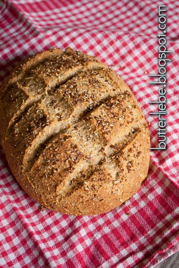 Rezept für ein ketogenes Körnerbrot LCHF von butterliebe.blogspot.com Keto, Skaldeman, low carb high fat