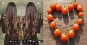 Como fazer hidratação capilar com tomate para os cabelos. O tomate trás inúmeros benefícios para os fios. Faz o Cabelo crescer e reduz a queda.