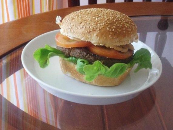 Hambúrguer de Proteína de Soja | Receita