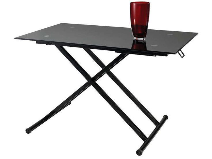 Table basse escamotable STAND UP - Vente de Table basse - Conforama