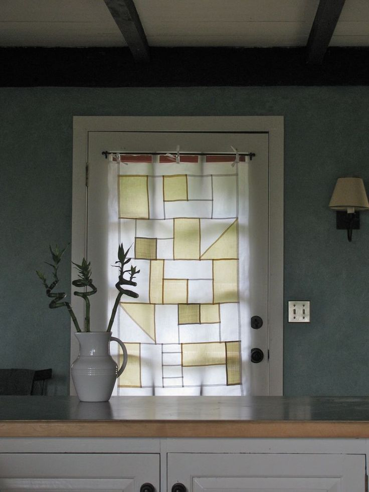 pojagi window covering. i want to try to make something like this.