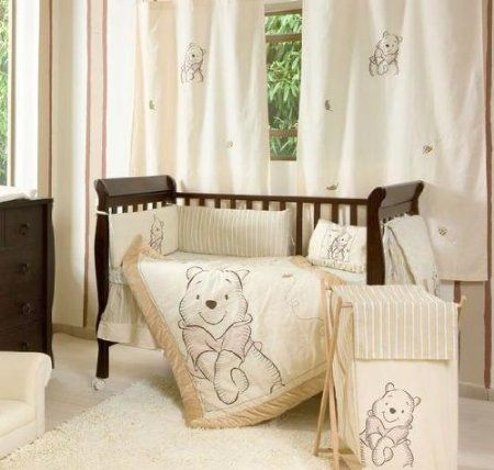 my favorite yet!!! someday my baby will have style :) Amazon.com: Winnie the Pooh Crib Bedding Collection 4 Pc Crib Bedding Set: Baby