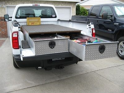 Aluminum Truck Bed Tool Boxes for Pickups