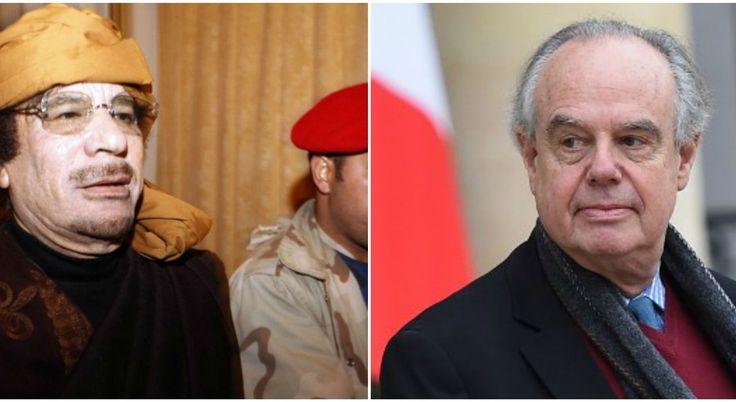 """Frédéric Mitterrand raconte comment Kadhafi l'a invité à """"passer la nuit sous sa tente"""""""