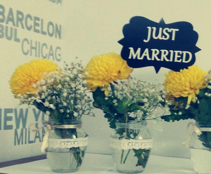 Cute wedding deco - by me :X