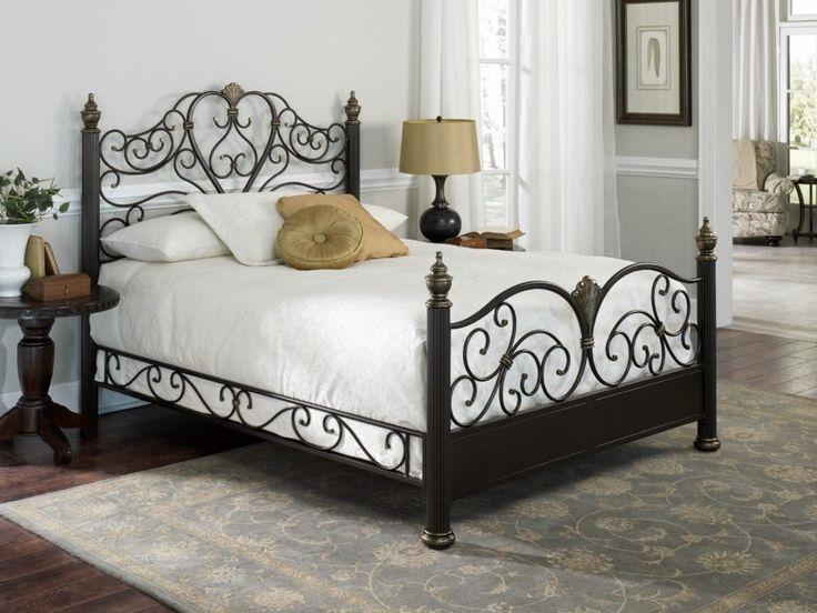 Black Metal Bed Frames Queen