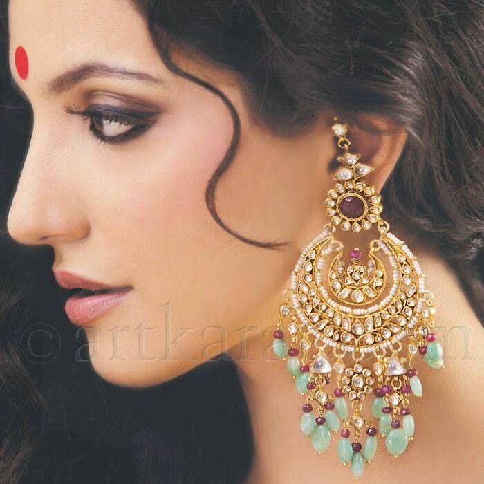 Chandellier earrings by Art Karat